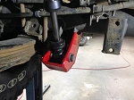 Xterra Rear Shock Skids
