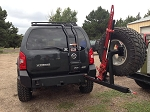 2005-2015 Xterra Rear Bumper With tire carrier